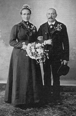 Josef Hofbauer und seine Ehefrau Katharina geb. Mitterhofer