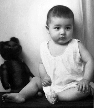 Erich Hartenthaler im Alter von 10 Monaten